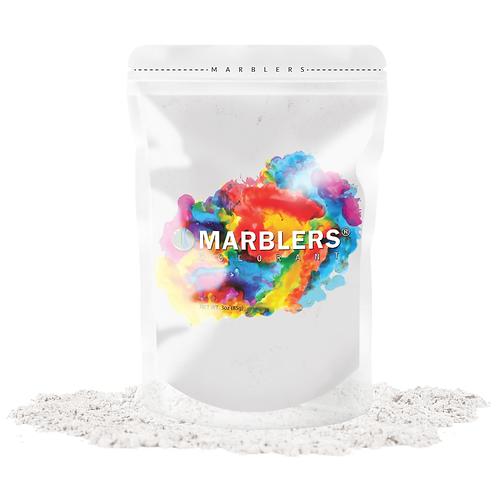 MARBLERS® [Cream White]  Pure Mica Powder Colorant 3oz (85g)