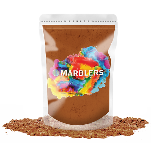 MARBLERS® [Bronze]  Pure Mica Powder Colorant 3oz (85g)