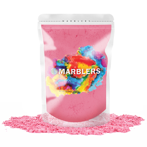 MARBLERS® [Pink]  Pure Mica Powder Colorant 3oz (85g)