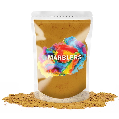 MARBLERS® [Mustard Gold]  Pure Mica Powder Colorant 3oz (85g
