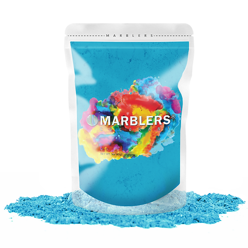 MARBLERS® [Turquoise]  Pure Mica Powder Colorant 3oz (85g)