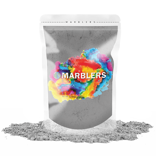 MARBLERS® [Light Gray]  Pure Mica Powder Colorant 3oz (85g)