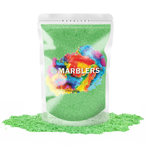 MARBLERS® [Lime Pearl]  Pure Mica Powder Colorant 3oz (85g)