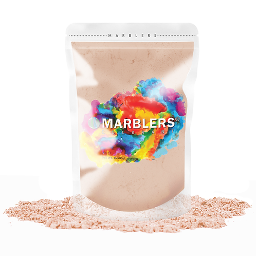 MARBLERS® [Peach]  Pure Mica Powder Colorant 3oz (85g)