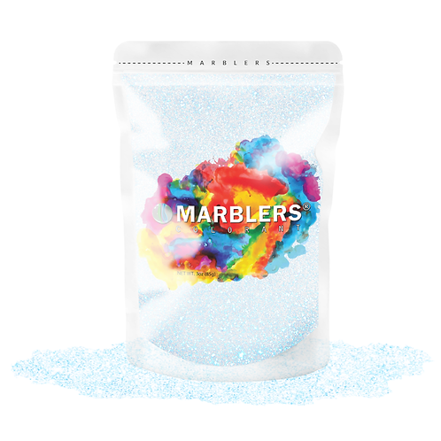 MARBLERS® [Shine Blue Pearl]  Pure Mica Powder Colorant 3oz (85g)
