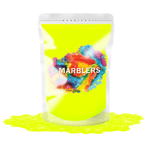 MARBLERS® [Neon Yellow]  Pure Mica Powder Colorant 3oz (85g)