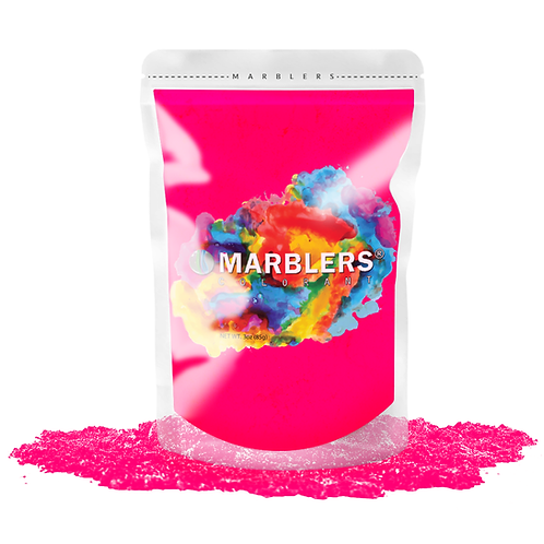 MARBLERS® [Neon Pink]  Pure Mica Powder Colorant 3oz (85g)