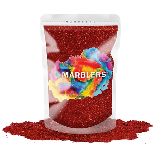 MARBLERS® [Ruby Pearl]  Pure Mica Powder Colorant 3oz (85g