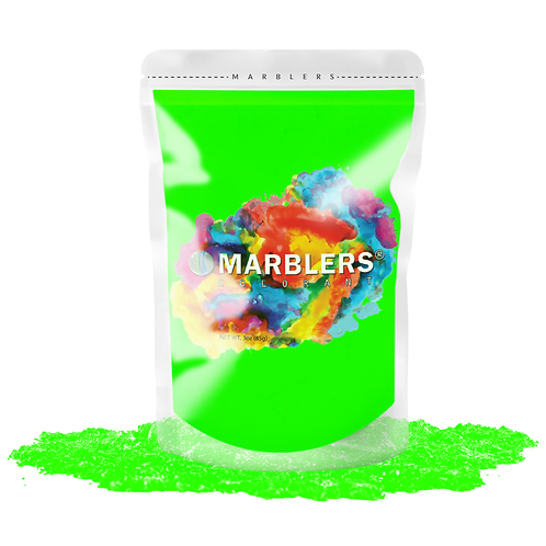 MARBLERS® [Neon Green]  Pure Mica Powder Colorant 3oz (85g)