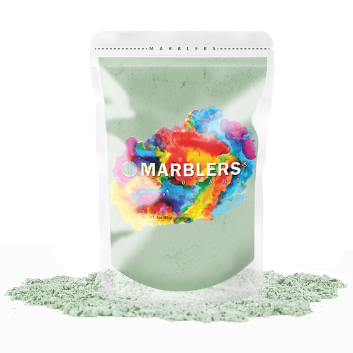 MARBLERS® [Mint]  Pure Mica Powder Colorant 3oz (85g)
