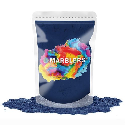 MARBLERS® [Fine Navy]  Pure Mica Powder Colorant 3oz (85g)