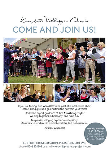 Join the Kimpton Village Choir