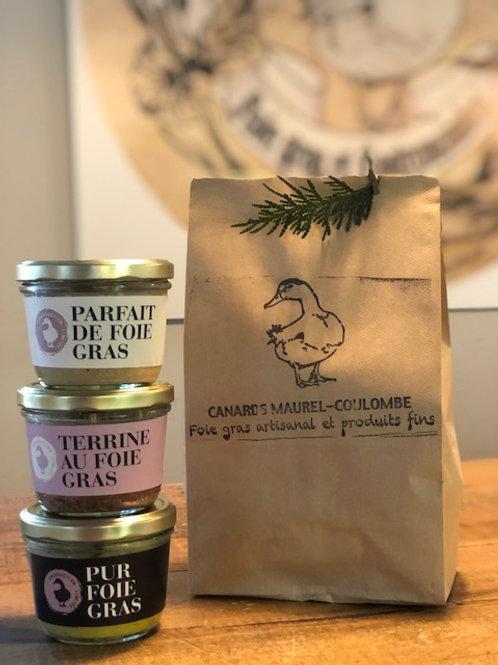 Trio autour du Canard et du foie gras