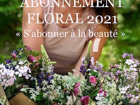 ABONNEMENT FLORAL 2021