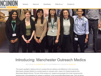 The Mancunion Introducing: Manchester Outreach Medics
