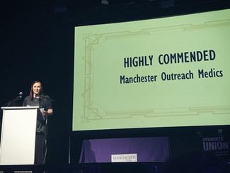 "MOMs wins Mancunion ""Highly Commended Society Impact"" award"