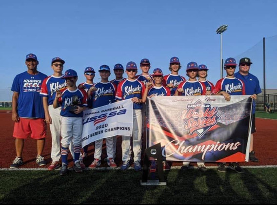 13U USSSA World Series Champs 2020