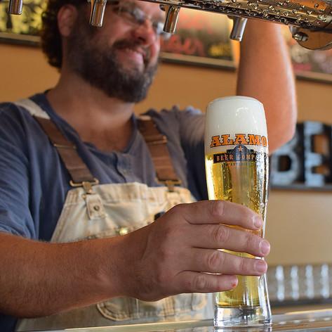 Our brewmaster, James Hudec.