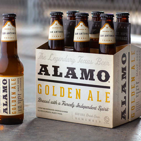 ALAMO Golden Ale, our very first style, is a crisp and refreshing American Blonde Ale with a smooth finish. Proudly brewed in San Antonio, and distributed all across the great state of Texas.   📷: Toolbox Studios