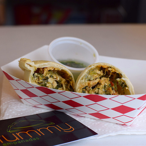 Fat Tummy Empanadas, the winner of our first Alamo Beer Food Fight, and now our official house food truck!