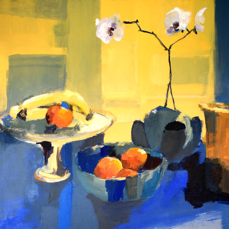 Still Life with Orchid