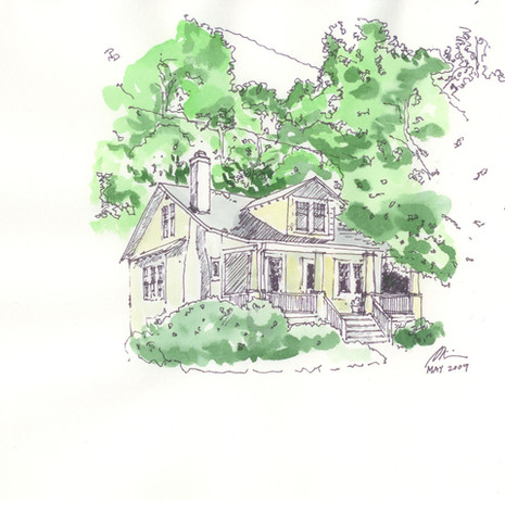 Arlington House - Spring