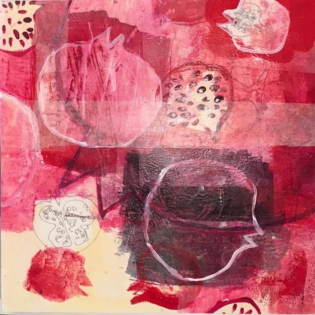 Pomegranate Collage 1