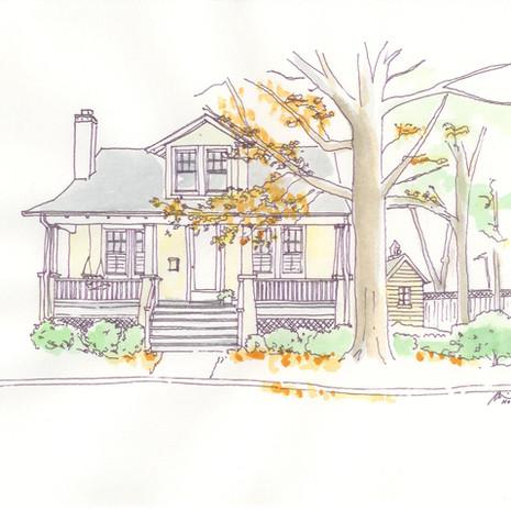 Arlington House - Fall