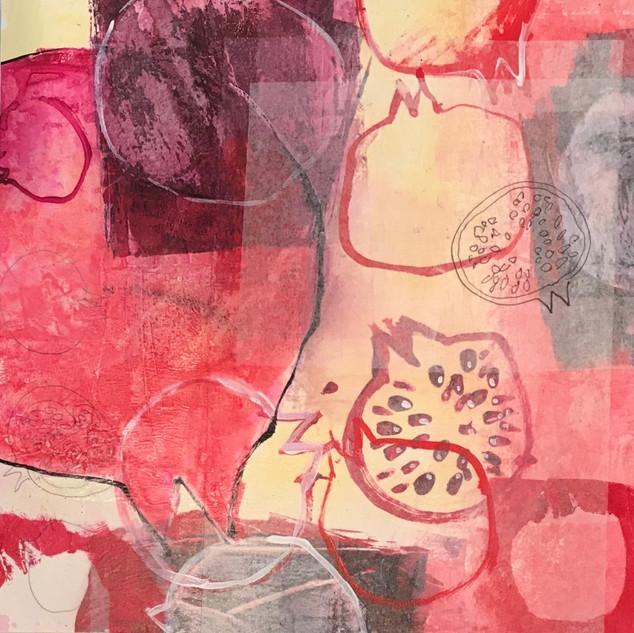 Pomegranate Collage 2