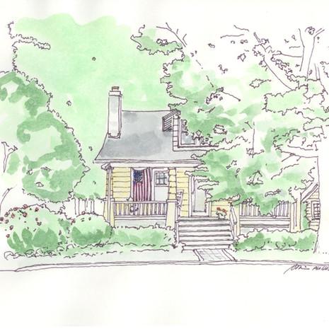 Arlington House - Summer