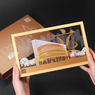 LEGCO Paper Art Photo Frame Tailor Made corporate gift