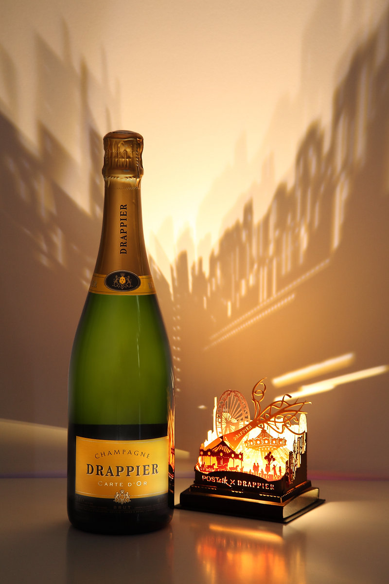 Champagne Drappier Carte d'Or 2014 Gift