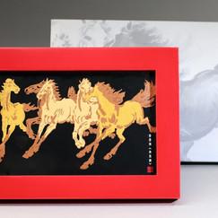 香港賽馬會 徐悲鴻《奔馬圖》紀念相架 HKJC XU BEIHONG Tailor Made Paper Art Photo Frame