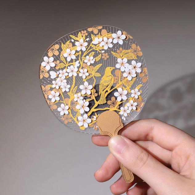JW. Paper Art Magnet