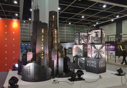 Invited-by-HKTDC,-represent-HK,-to-design-an-art-piece-for-IDT-EXPO,-first-showed-in-HK,-and-now-sho