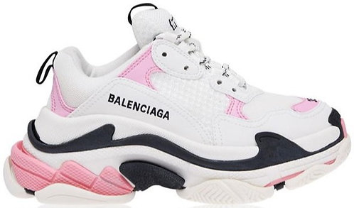 Balenciaga Triple S - White/Pink