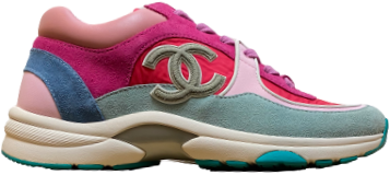 Chanel Pink / Baby Blue CC Runner