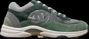 Chanel Green / Grey CC Runner