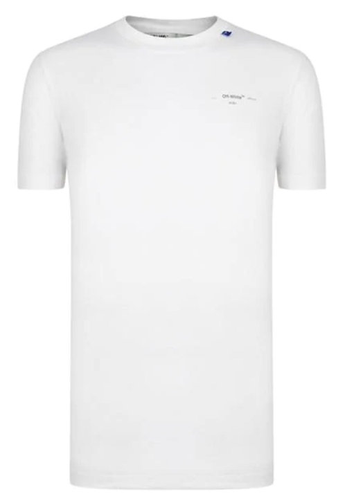 Off-White Unfinished T-Shirt / White