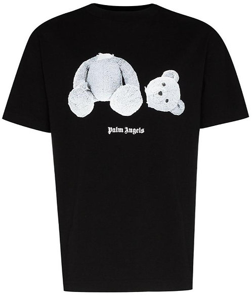 Palm Angels - T-Shirt - Black (White Bear)