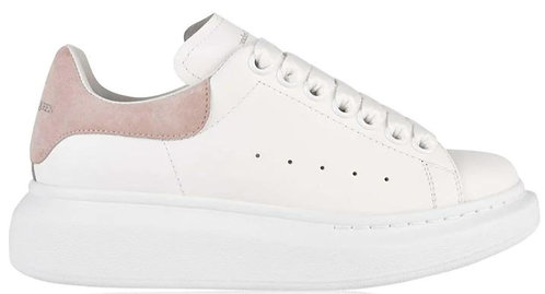 Alexander McQueen Oversized Trainers - White/Pink