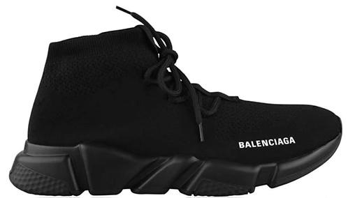 Balenciaga Speed Lace Trainers - Black