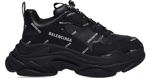 Balenciaga Bal Triple S SN03 Sneaker - Black / White