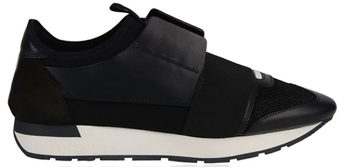 Balenciaga Race Runner Trainers - Black