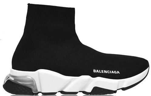 Balenciaga Speed Clear Sole Trainers Black / Clr
