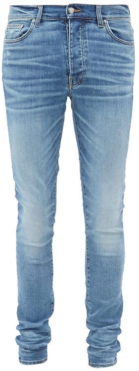 Amiri Blue Skinny Jeans