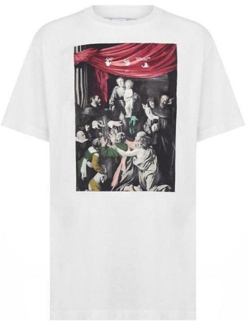Off-White Caravaggio T Shirt - White