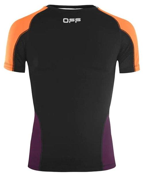 Off-White Running Short Sleeve T-Shirt / Black