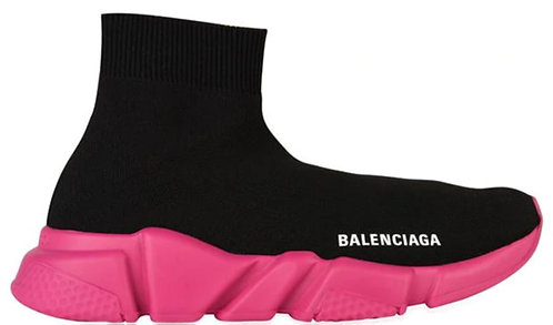 Balenciaga Speed Trainers - Black / Pink