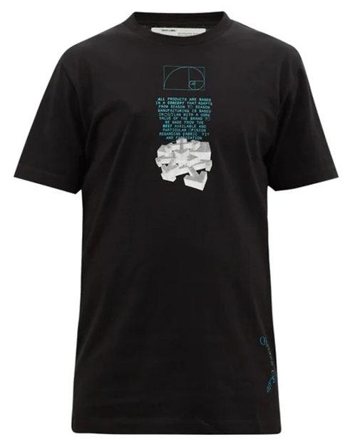 Off-White Arrow-print cotton-jersey T-shirt